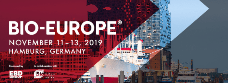 Bio Europe Hamburg conference announcement