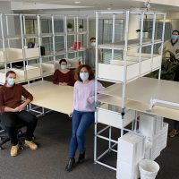 Bionomous team in their new offices